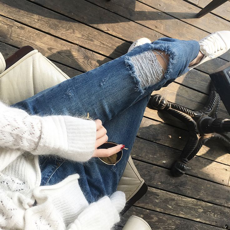 Find More Jeans Information about 2016 Summer High Waist Jeans Woman Skinny Ripped Jeans For Women Boyfriend Jeans For Women Stretch Ripped Jeans Female Femme,High Quality jean women,China jeans jeans jeans shop Suppliers, Cheap jeans and jacket style from Loveliness Trade Co., Ltd on Aliexpress.com