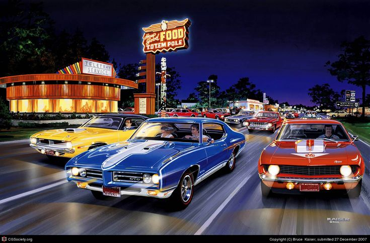 35 best images about muscle car art on pinterest pontiac