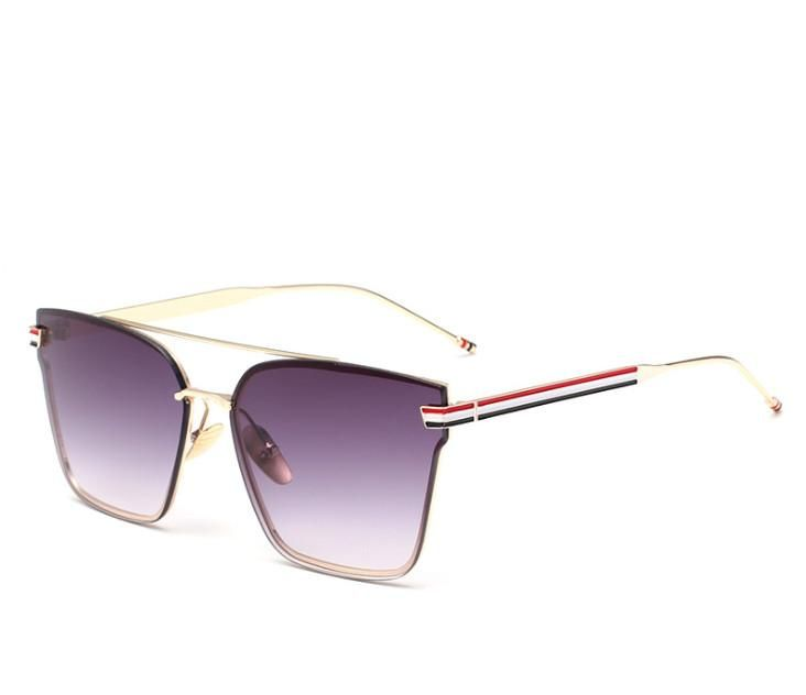 2017 New reflective fashion sunglasses trend Street beat retro sunglasses yurt drive men and women personality glasses