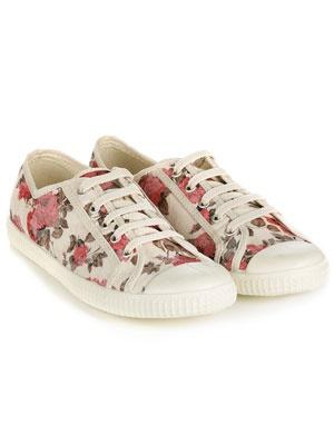Cute florals sneakers