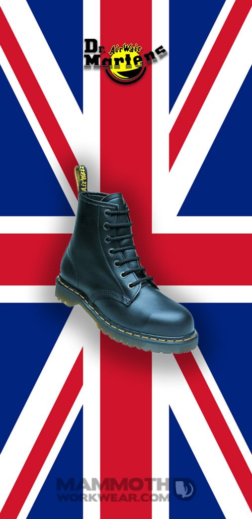 Did you know that the iconic Dr Martens also make safety boots. Step out in style and safety with a pair from our DM selection.