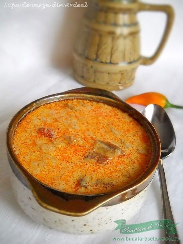 Supa de varza cu afumatura
