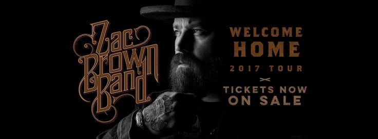 Zac Brown Band tour dates, pre-sale tickets, travel packages, and venue information