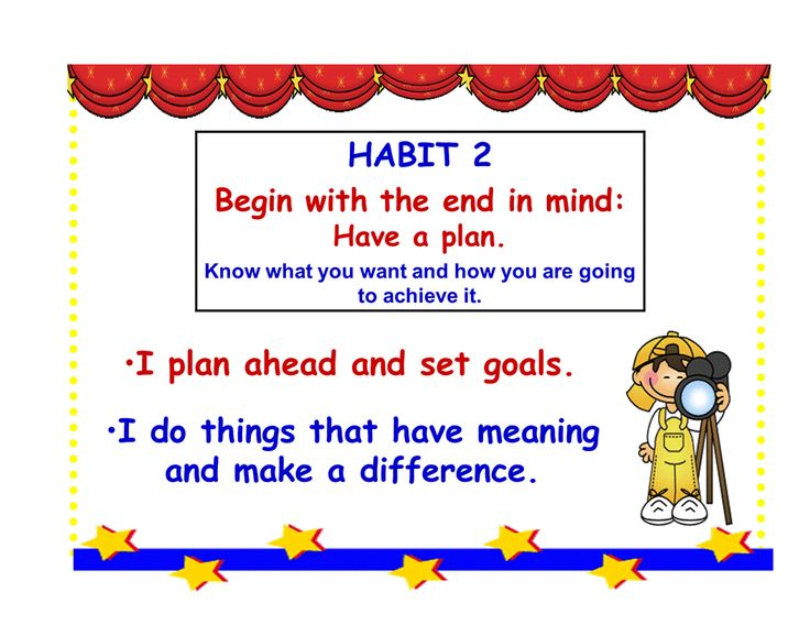 22 best images about 7 Habits-2 Begin with the end in mind on ...