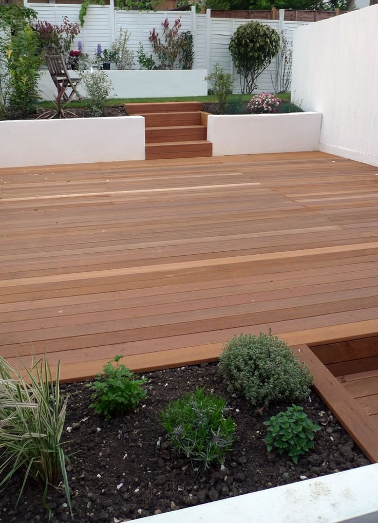 balau hardwood decking deck installation Streatham London