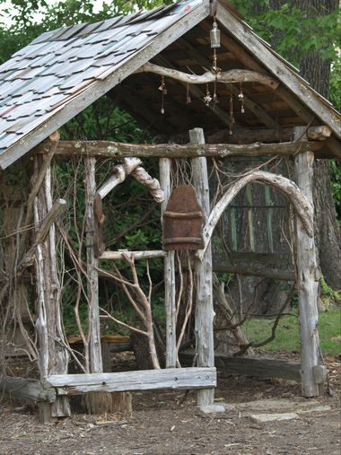 Twig house at the Memphis Botanic Garden.  Supposed to have the best childrens garden in the country