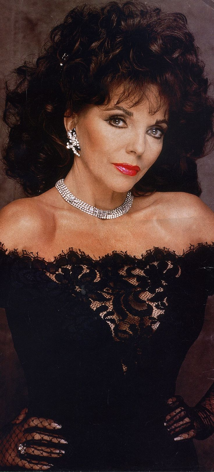 Joan Collins.