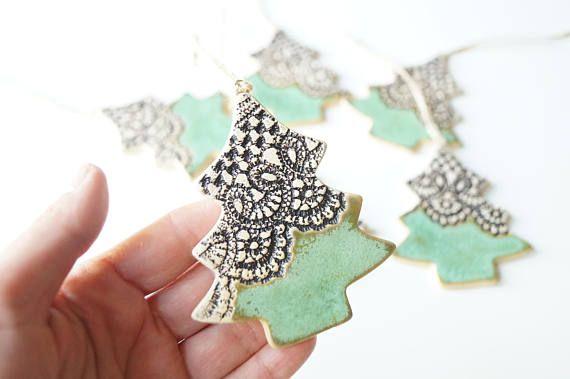 Christmas Tree Ornament Christmas Tree Decorations Ceramic