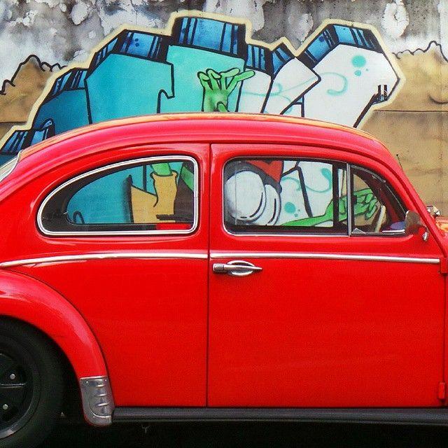 Brasil vintage car by la ciudad al instante #laciudadalinstante #saopaulo #brasil #ig_saopaulo #ig_brasil #soloparking #vw…