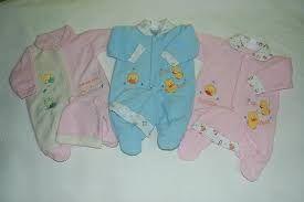 Resultado de imagen para ropita de bebitas recien nacidas