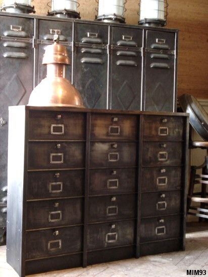 25 Best Ideas About Industrial Filing Cabinets On