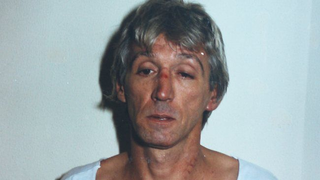 Double-murderer Rodney Charles Collins is suspected of being responsible for at least nine slayings, including police informer Terry Hodson and his wife Christine (2004), Mario Condello (2006) and Brian Kane (1982). Picture: Herald Sun Source: Herald Sun