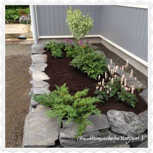 Multsin puutarha ja koti: Kukkapenkki muurikivistä