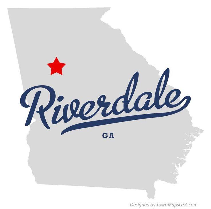 Riverdale GA Map   Map of Riverdale Georgia GA