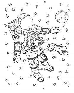 (HD Exclusive) Uzay Ve Gezegenler Boyama