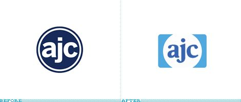 AJC Logo, Before and After