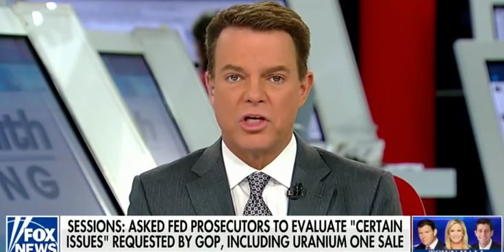 Fox News anchor Shep Smith annihilates his network's favorite Hillary Clinton 'scandal' the Uranium One deal