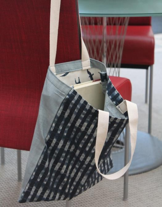 You'll be carrying everything in style with this easiest tote pattern ever!