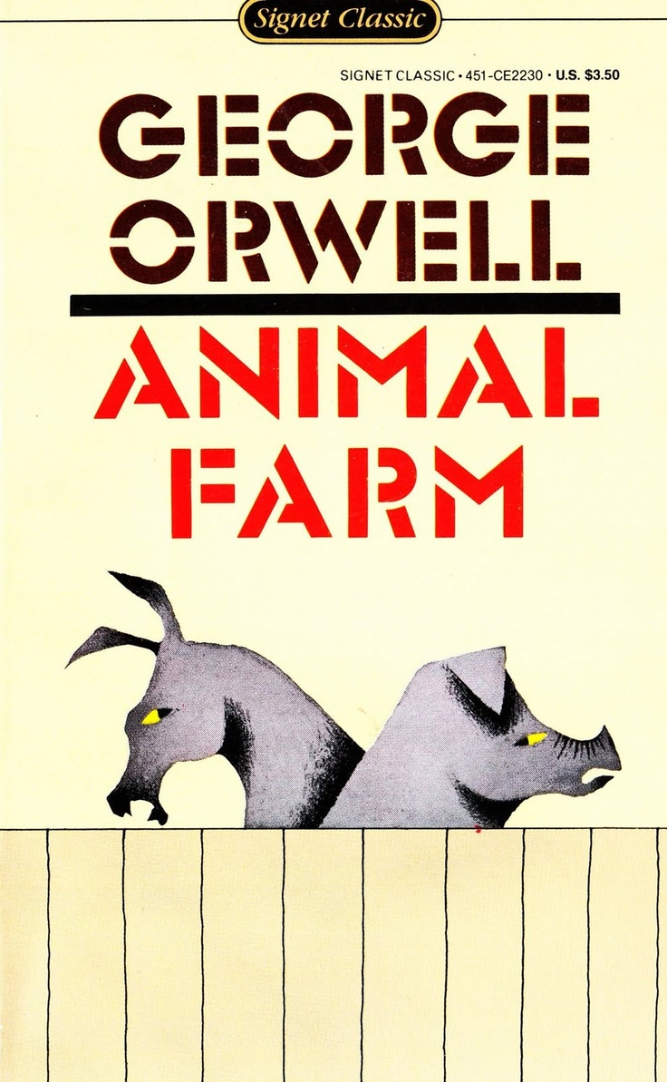 the power and corruption in george orwells animal farm Without language and the power of words in animal farm, the rebellion   through the impressive rhetorical and propaganda skills of squealer and the   there is never a moment that the class distinctions in animal farm by george  orwell.