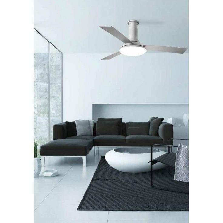 Fus ventilatore - Leds C4 Illuminazione - Soffitto - Progetti in Luce