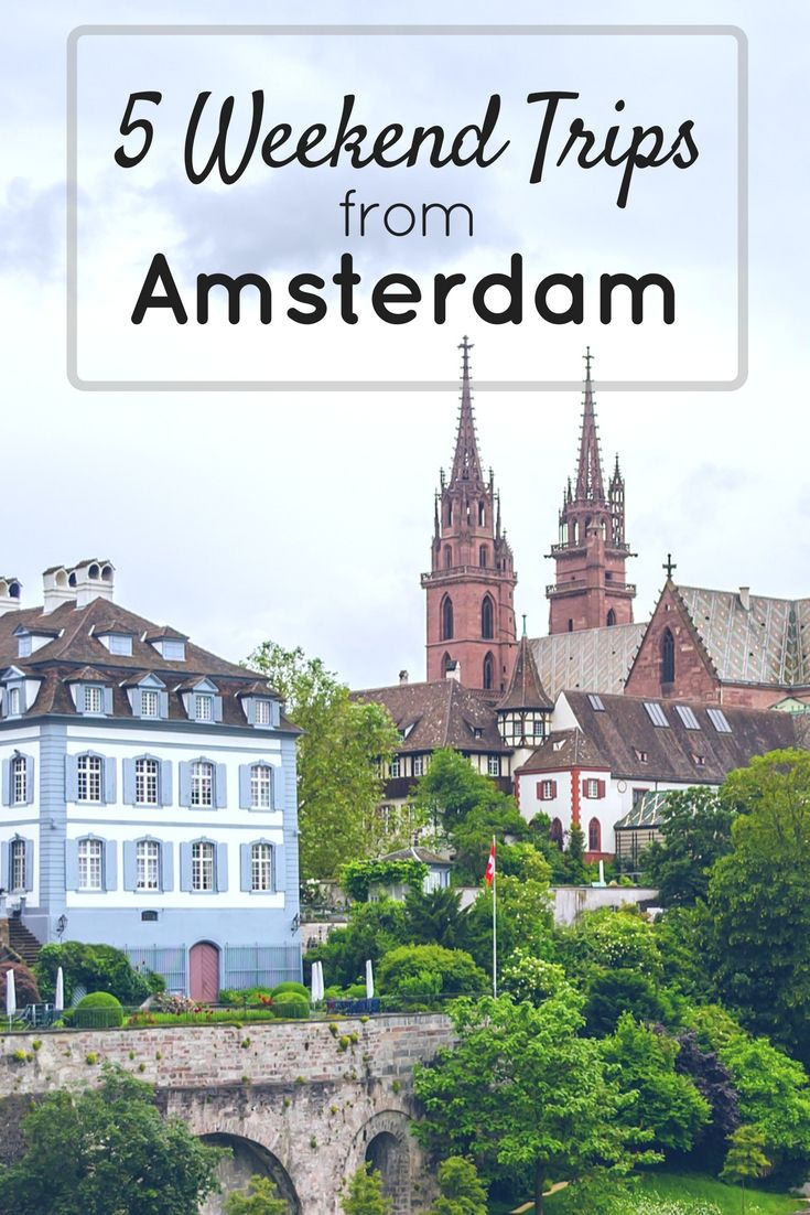 5 weekend trips from Amsterdam is your guide on where to go from Amsterdam to get a whole new European experience. As expats we are lucky to have quick and cheap flights or train rides to amazing cities. #weekendtrips #Europe #citybreaks #amsterdam