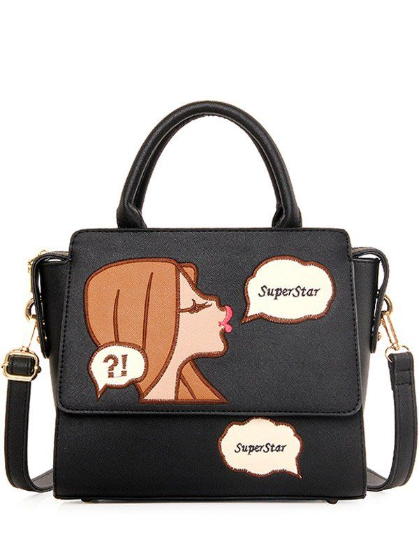 SHARE & Get it FREE | Trendy Cartoon Pattern and Embroidery Design Tote Bag For WomenFor Fashion Lovers only:80,000+ Items • New Arrivals Daily • Affordable Casual to Chic for Every Occasion Join Sammydress: Get YOUR $50 NOW!