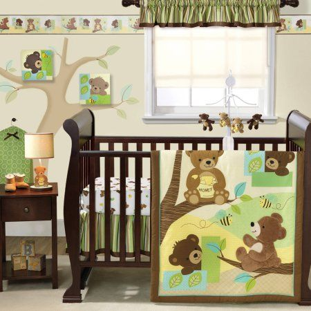 Bedtime Originals By Lambs Amp Ivy Honey Bear 3pc Crib