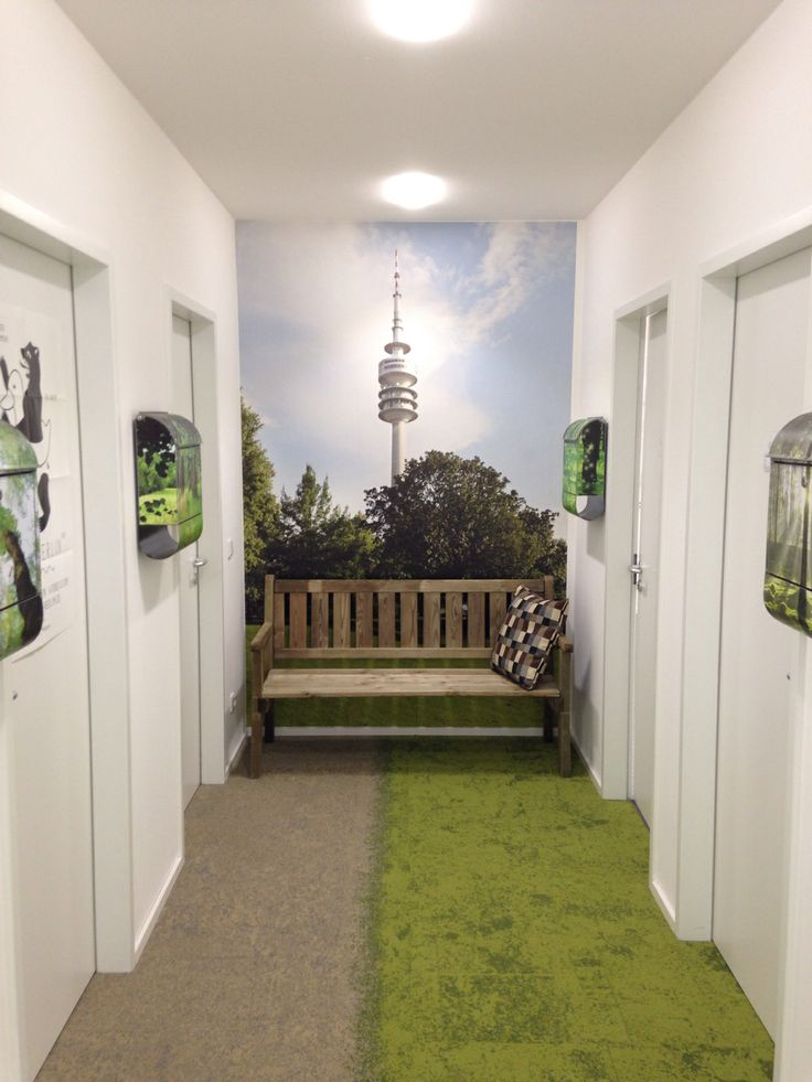 """Coworking space """"Combinat"""" in Munich. Carpet tile collection Urban Retreat."""