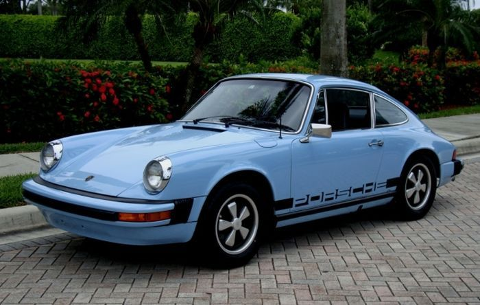 1974 porsche 911s for sale on gulf blue porsche 911 rare colors pinterest. Black Bedroom Furniture Sets. Home Design Ideas