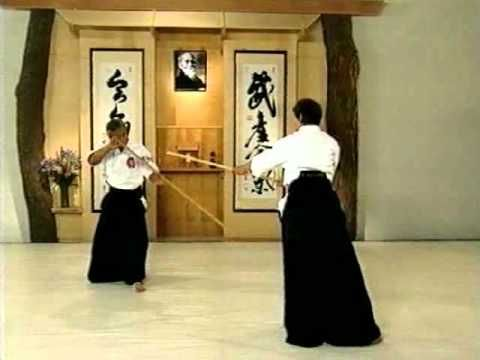 AIKIDO - MITSUGI SAOTOME STAFF OF AIKIDO - YouTube