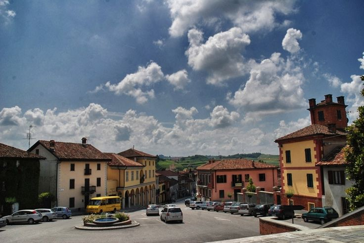 Roero town of Priocca.
