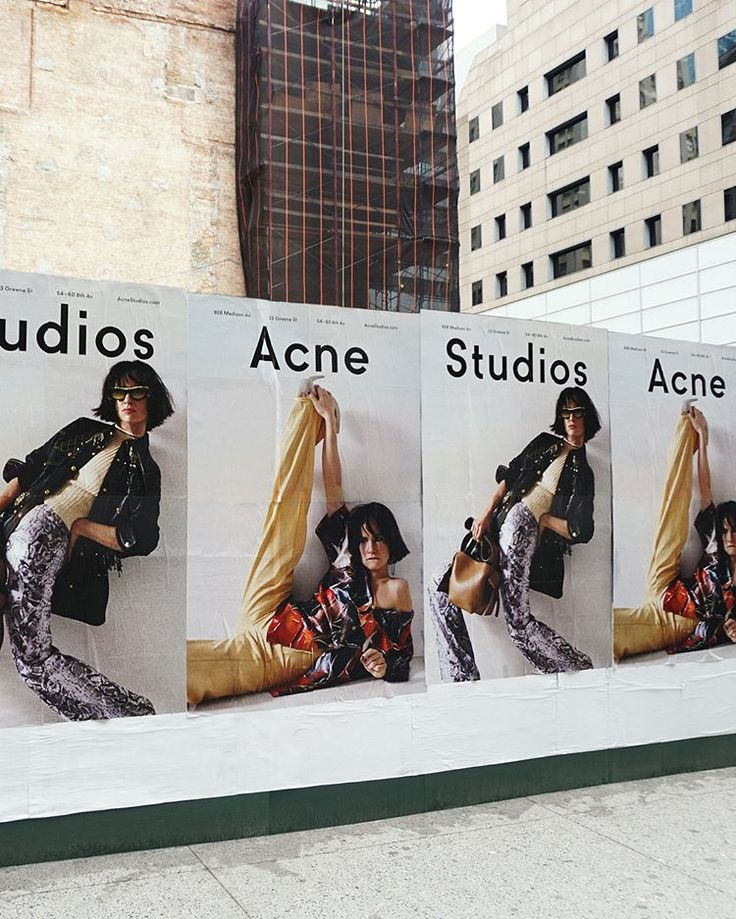 The #AcneStudiosSS18 campaign as seen in NYC. Starring Juliette Lewis, shot by Talia Chetrit and styled by Vanessa Reid.