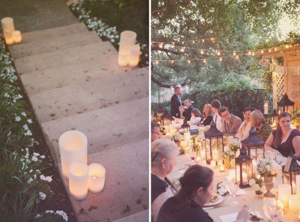 Backyard Rehearsal Dinner Ideas - Rustic Wedding Chic