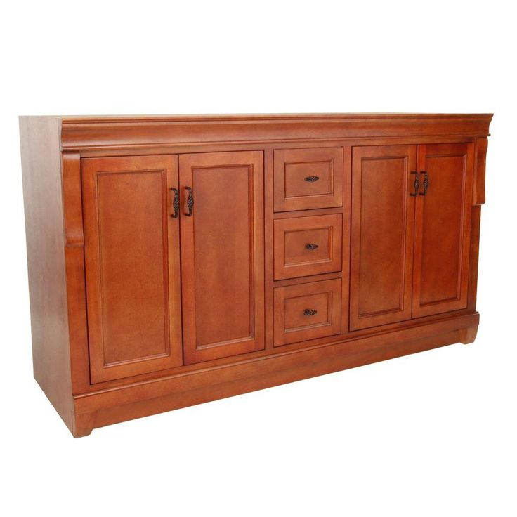 Foremost naples 60 in w x 21 5 8 in d x 34 in h vanity for Bathroom cabinets naples fl