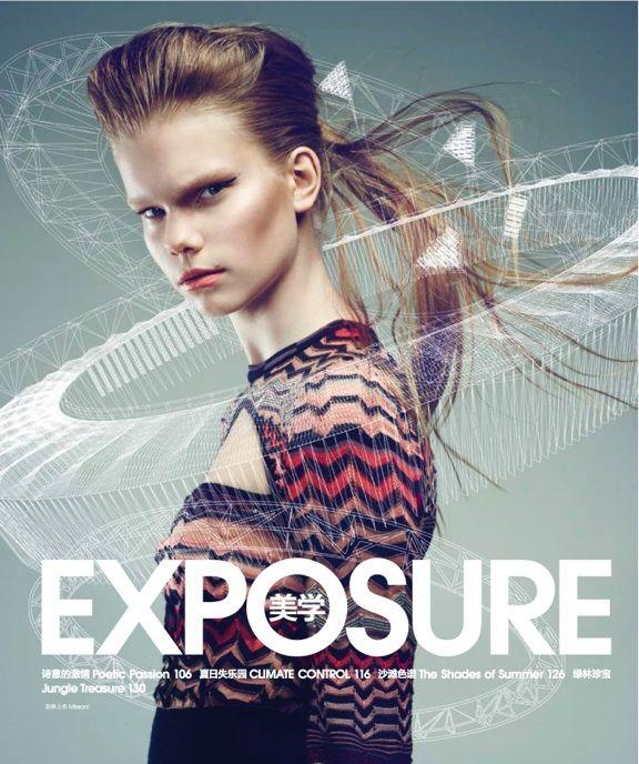Surface Magazine Photography: Takahito Sasaki Make-up:Jennifer Mika Avins  Hair: Takuya Morimoto stylist Nicole Freeman