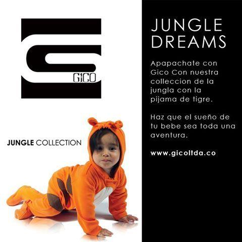 Jungle  dreams #pijama #baby #collection