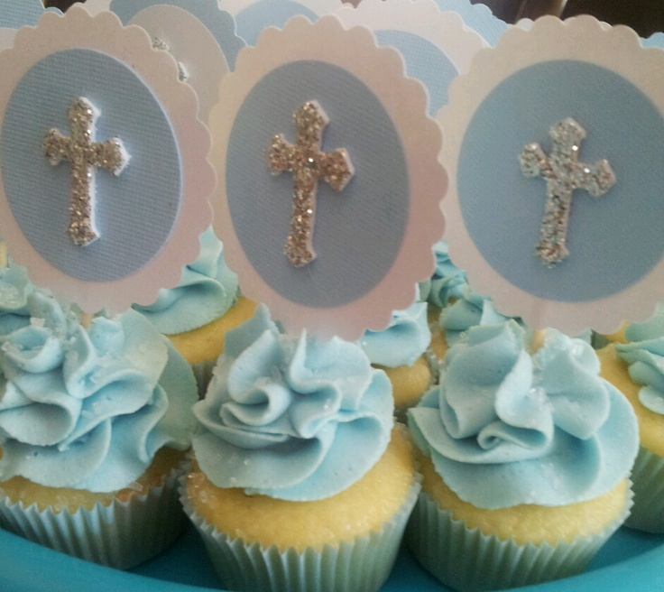 Mini Cakes For Baptism