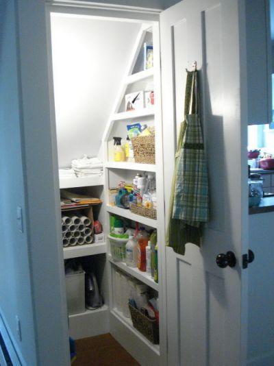 25 Best Closet Under Stairs Ideas On Pinterest Under