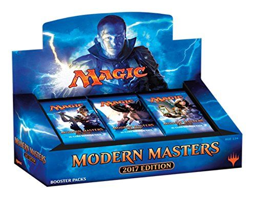 moderns masters 2017 booster box