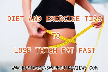 If you want smaller thighs, check out these diet and exercise tips to #LoseThighFat fast. Click the link to the right: http://www.bestwomensworkoutreviews.com/diet-and-exercise-tips-to-lose-thigh-fat-fast