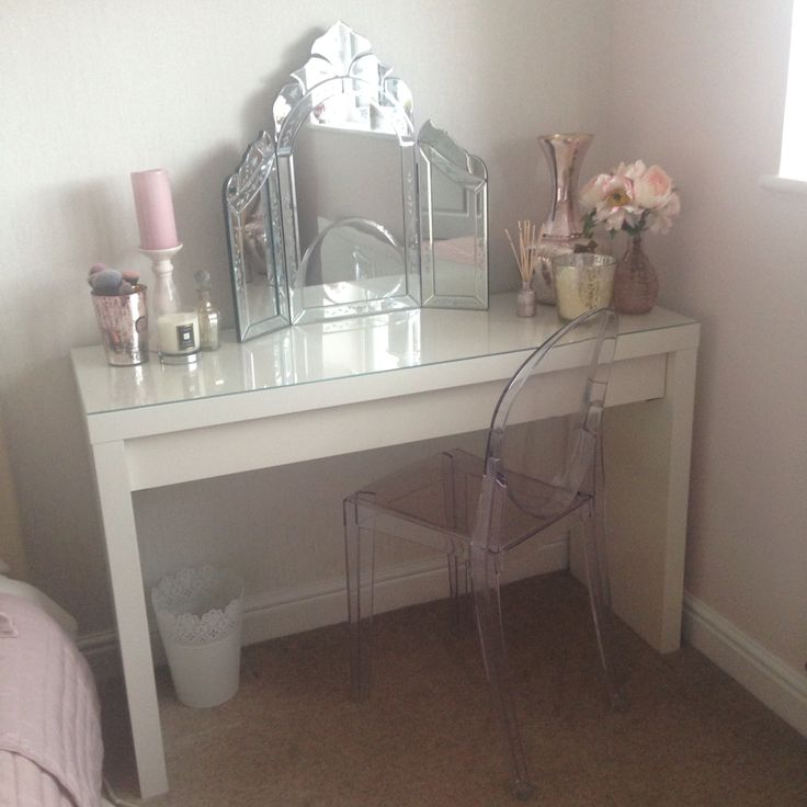 I Want The IKEA Malm Dressing Table For A Vanity! I Want This The Most LC