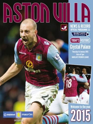 Crystal Palace vs Aston Villa - Barclays Premier League