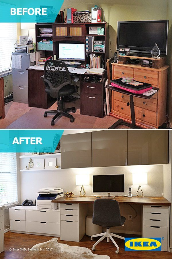 Julie teamed up with the IKEA Home Tour Squad to transform her office into an organized hub. It helped to free up time and space to support her busy lifestyle, streamline her workload and reinvigorate her passions, like jewelry making.
