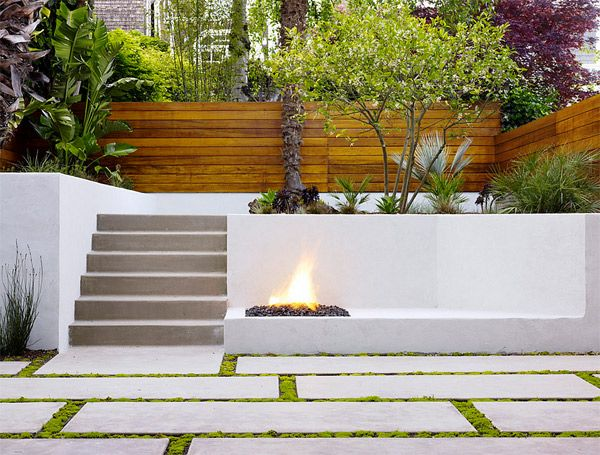retaining walls fire pit garden patio www.homesalemalta.com