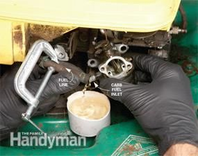 How to Repair Small Engines: Cleaning the Carburetor | The Family Handyman