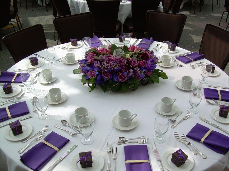 Purple Wedding Tables Part 58