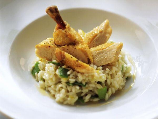 Een heerlijke risotto met kip - Libelle Lekker!