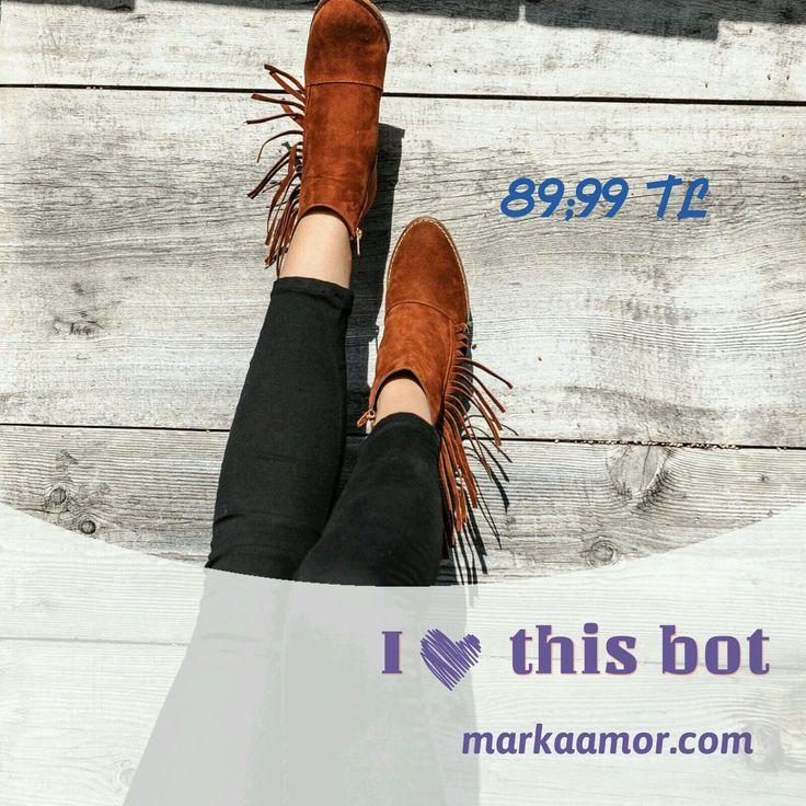 #püsküllü #kovboy #bot  #kendi #tarzını #yaratmak #için #Şimdi #markaamorda