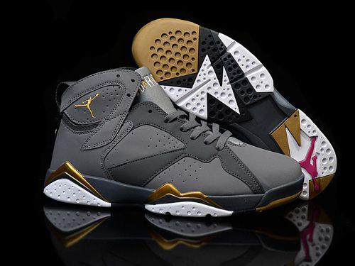 Nike Air Jordan Retro 7 VII NEW GG Maya Moore Gold Men Shoes,Price: