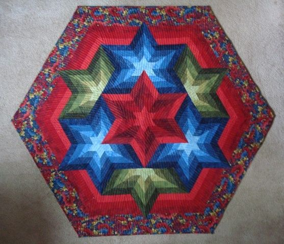 1000 Images About Quilt 60 Degree Triangle On Pinterest